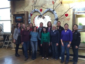 Boettcher staff at Project Angel Heart