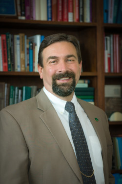 Colorado State University President Anthony (Tony) A. Frank. March 28, 2014.